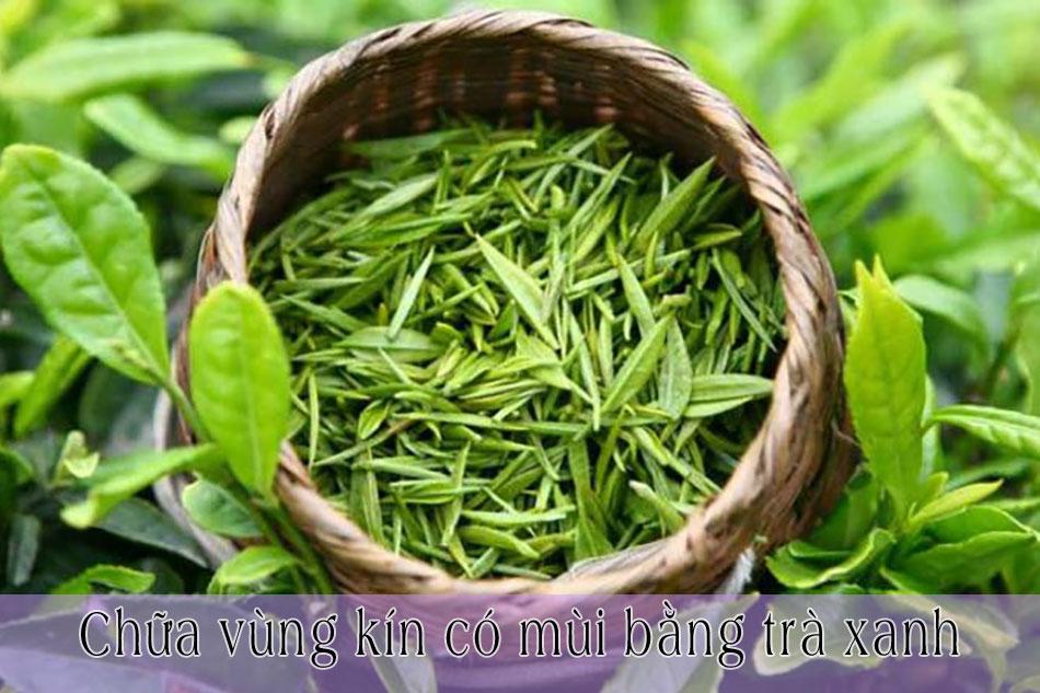 Chữa vùng kín có mùi khi mang thai bằng trà xanh